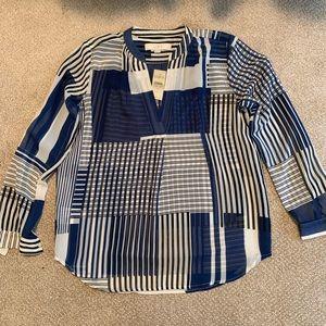 NWT beautiful sheer blouse!